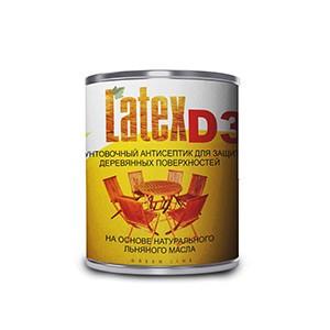 Latex D3 — грунт антисептирующий на основе льняного масла