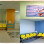 Детская Республиканская клиническая больница ДРКБ г.Казань, (коридоры и)