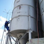 Механическая очистка и грунтование конструкции (7)